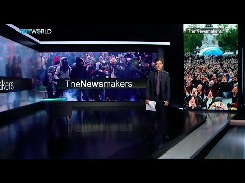 The Newsmakers: France's Labour Strikes and Kosovo Trafficking