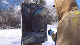 Kyle Buckland Plein Air Oil Painting Demo Demonstration Art