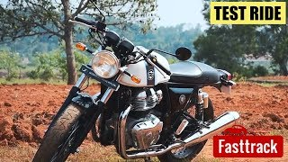 Royal Enfield Continental GT 650 | Test Ride Review | Manorama Online