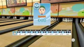 Wii Sports Club - 10 Pin Bowling - 300 (Perfect Game)