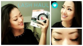 Madame Madeline Lash Haul + Review! | Ardell, Eylure + more!