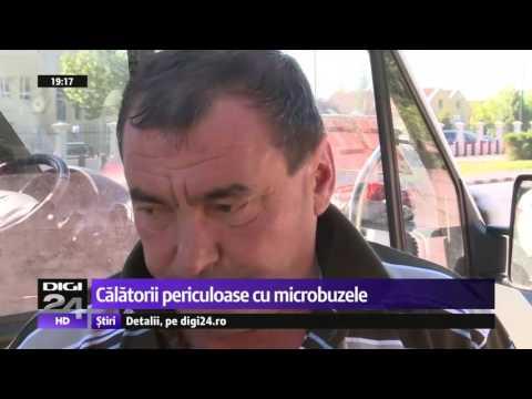 Călătorii periculoase cu microbuzele, pe ruta București-Ilfov