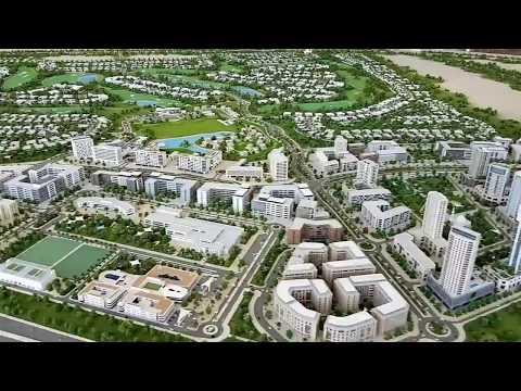 Emaar Dubai Hills Estate Drive Through 3D Model and Actual C