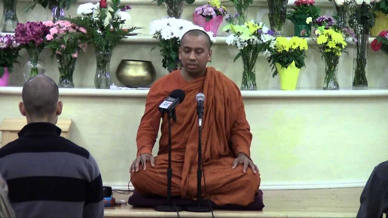 Bhante Saranapala - The relevance of the teaching of the Buddha today