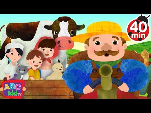 Farmer in the Dell | + More Nursery Rhymes & Kids Songs - ABCkidTV