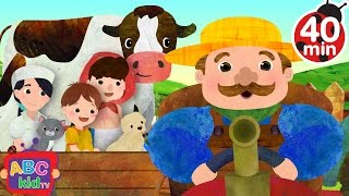 farmer in the dell   more nursery rhymes kids songs abckidtv
