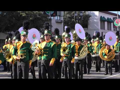 2015 Rose Parade Temple City High School Marching Band California