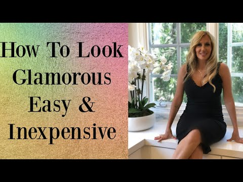 How To Look Glamorous!   Easy & Inexpensive thumbnail