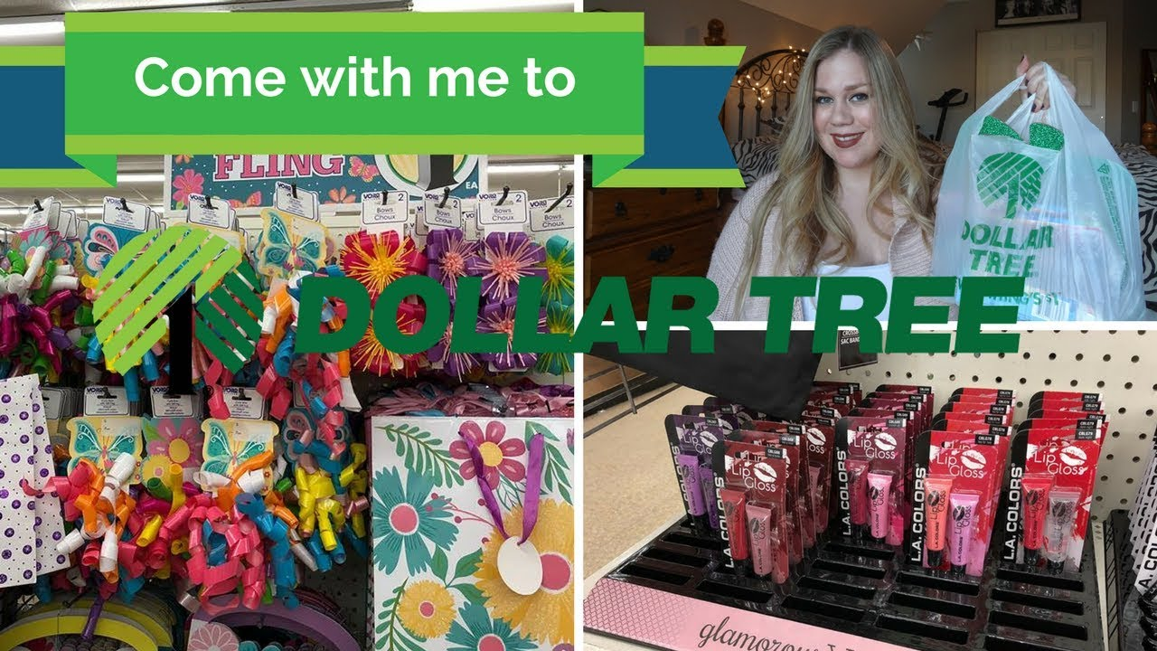Come with Me to Dollar Tree + HAUL!   February 26, 2018 - YouTube