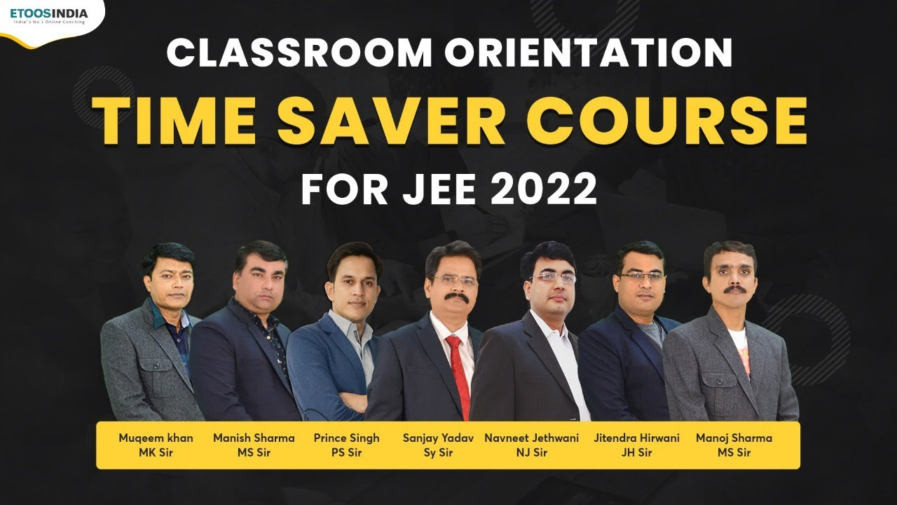 Classroom Orientation | Dropper Course for JEE | Kota Classroom Coaching at Etoosindia
