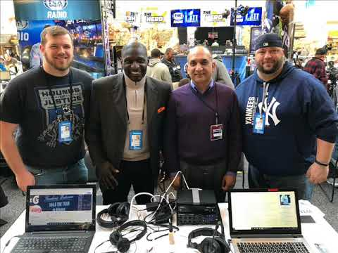 Solomon Wilcots and Dr  Ajay Verma join Levack and Goz on Radio Row