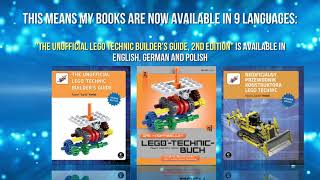 My LEGO books are now available in 9 languages!