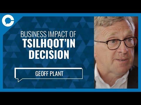 Former BC Attorney Gen. Geoff Plant: Business Imapct Tsilhqot'in Decision
