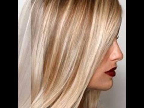 Light Blonde Hair With Highlights