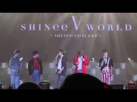 ANTARANEWS -  Konser SHINee World V Di Jakarta 161112