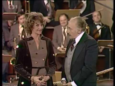 Yvetta Simonová a Miloš Kopecký v pořadu RING VOLNÝ (1979)