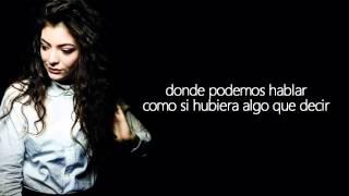 Lorde - 400 Lux (Traducida al Español)