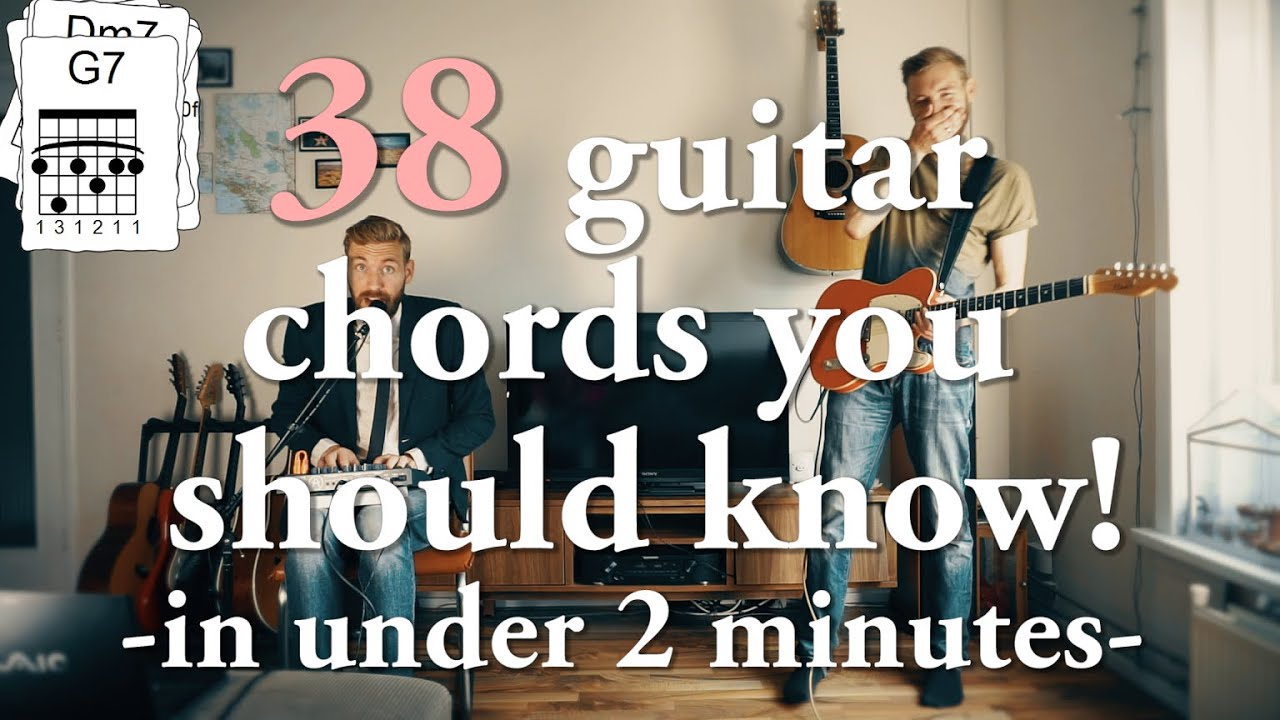 Every Chord You Need To Know In Under 2 Minutes Youtube