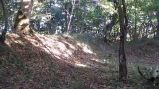 本陣山山頂の太閤ヶ原の風景 鳥取県鳥取市