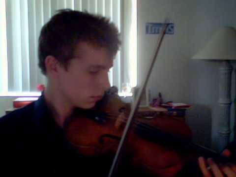October Sky Violin Solo