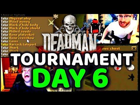 DMM Tournament Streamer Highlights Day 6 OSRS