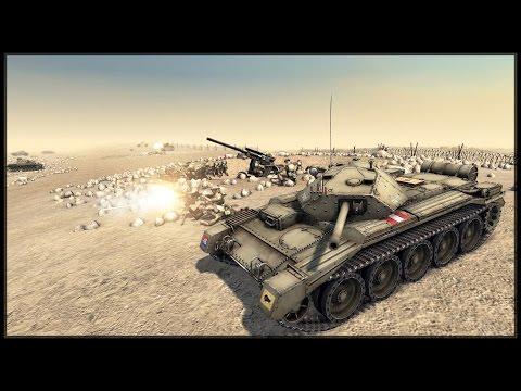 BRITISH DEFENSE OF TOBRUK - German Soldiers Mod (GSM XII) - Men of War: Assault Squad 2