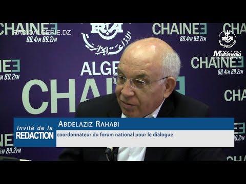 Abdelaziz Rahabi coordonnateur du forum national pour le dialogue