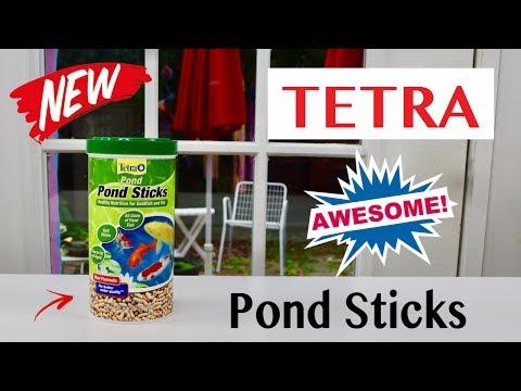 😍   TETRA  ❤️ Pond Sticks For Goldfish & Koi - Review    ✅