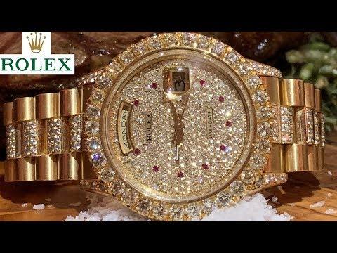 $65K DIAMOND ROLEX PRESIDENTIAL Video Review