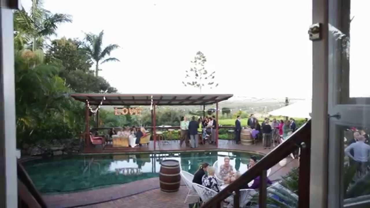 Wedding Venue Byron Bay L Fig Tree Restaurant Youtube