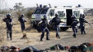 South Africa police slammed over Marikana miners