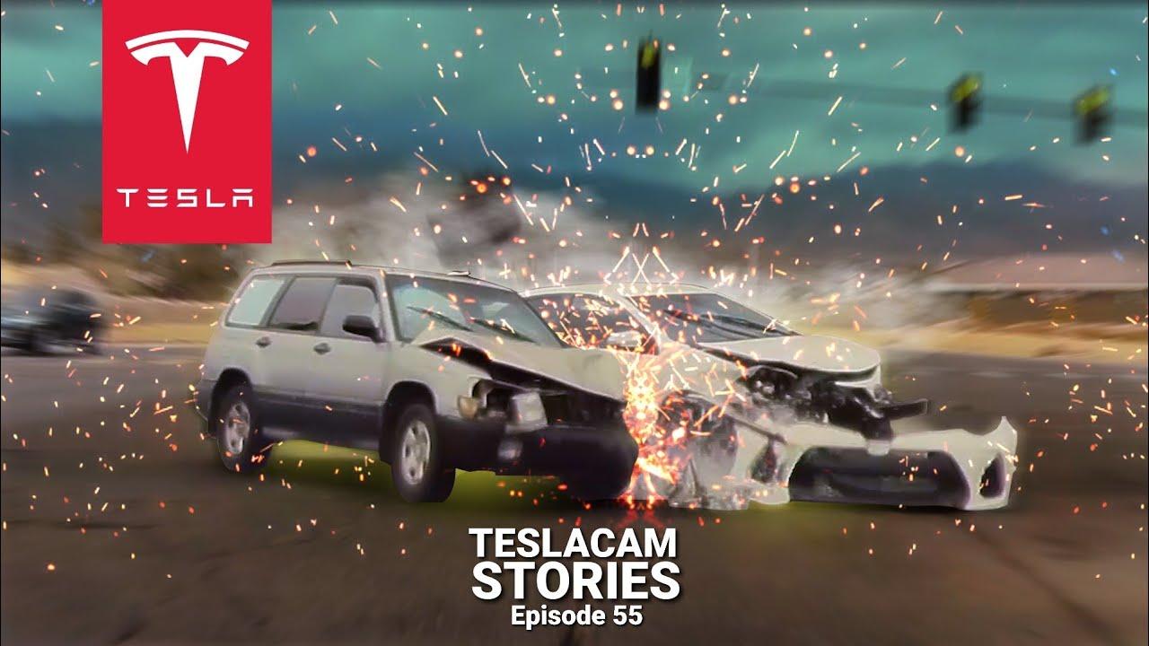 TESLA CRASHES; TESLACAM VIDEO NOW EVIDENCE IN COURT | TESLACAM STORIES #55