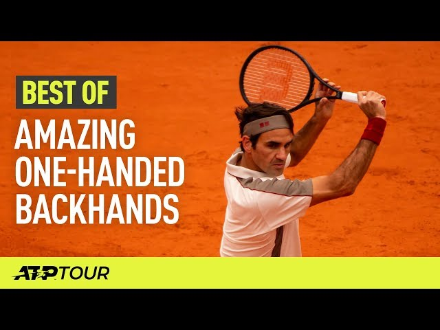 One-Handed Backhands | THE BEST OF | ATP
