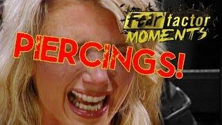 Fear Factor Moments | Piercing