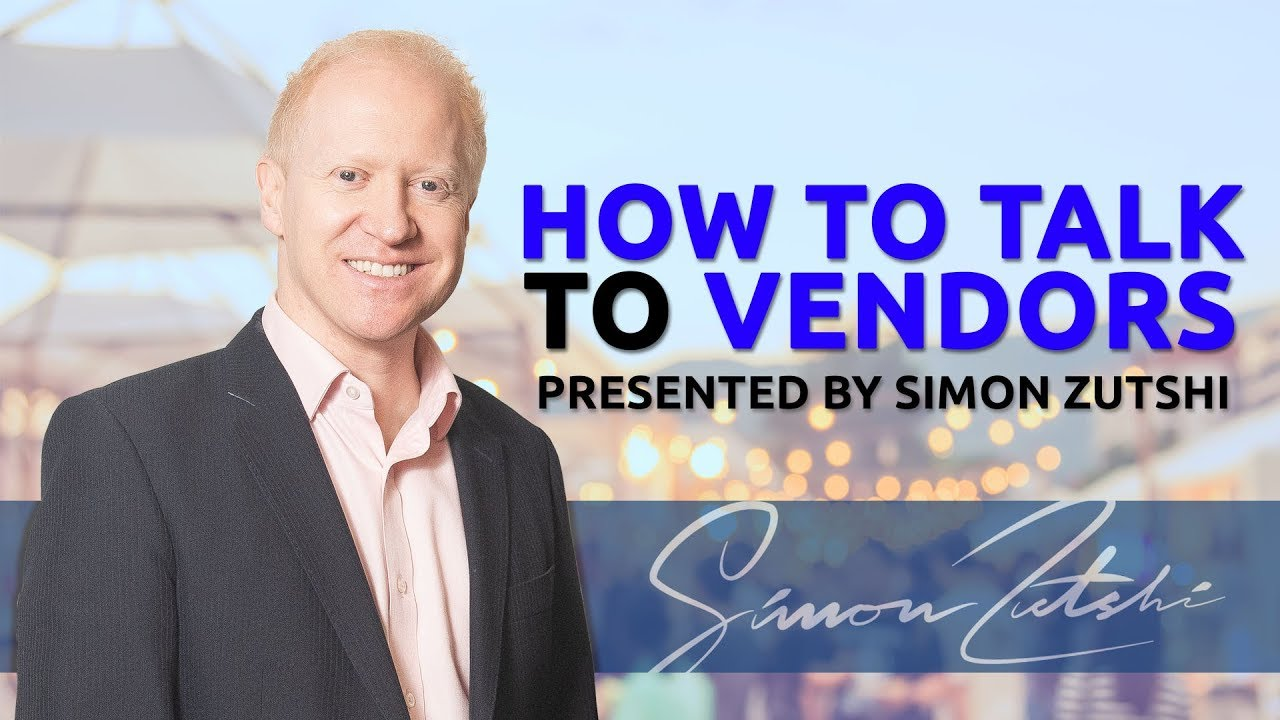 How to Talk to Vendors | Purchase Lease Option Agreement | Simon Zutshi