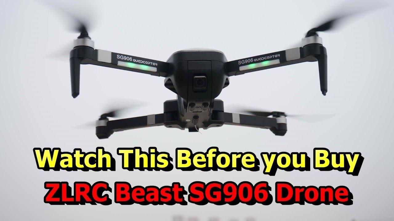 ZLRC Beast SG906 5G WiFi FPV GPS 4K Camera Drone
