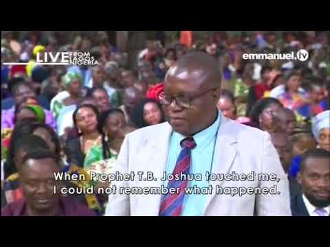 EMMANUEL TV SUNDAY SERVICE 13 05 2018  TESTIMONY MR LAWRENCE KAZUNGU  KILABO VIDEO 3