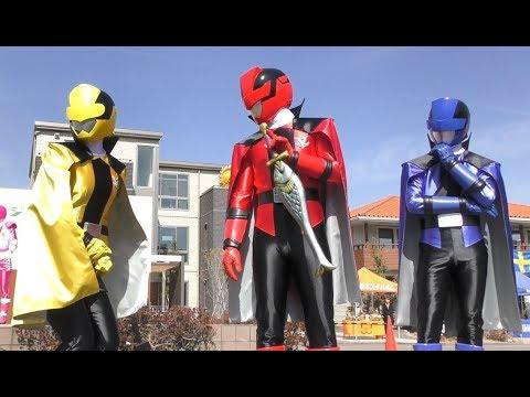 怪盗戦隊ルパンレンジャー VS 警察戦隊パトレンジャーショー 1話 ルパンイエローかわいいw 最前列高画質 Sentai kidsshow