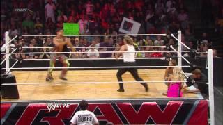 Chris Jericho vs. Fandango - Dance-Off: Raw, May 13, 2013