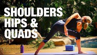 Shoulders, Hips & Quads Yoga Class - Five Parks Yoga