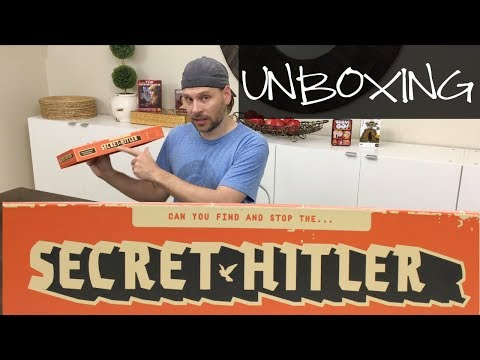 UNBOXING: Secret Hitler || Board Game