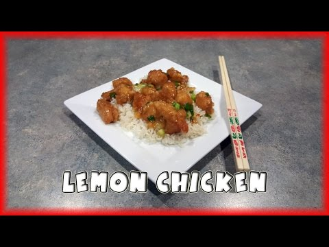 Asian-style Lemon Chicken