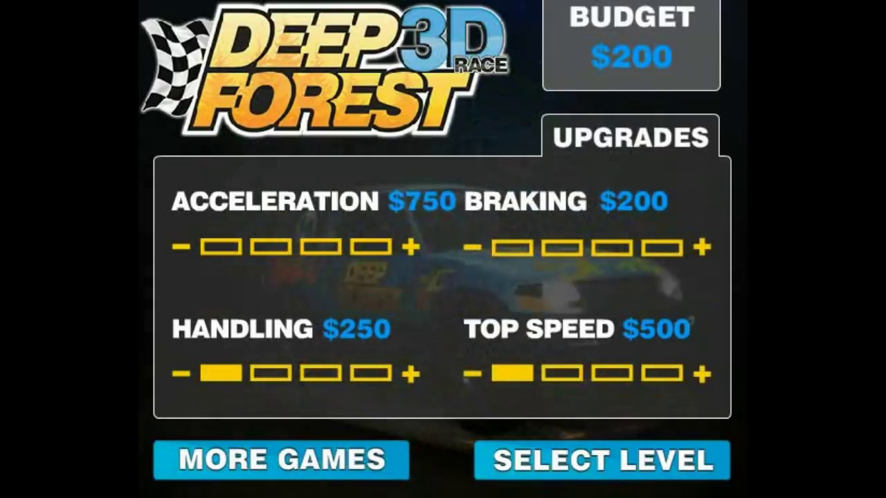 Playing Deep Forest 3d Race Game Free Car Games To Play