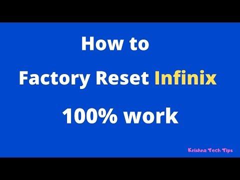 How to Reset Infinix S4 100% work