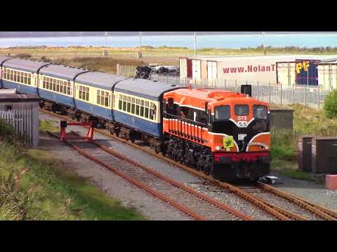 Retro 073 on the ''Emerald Isle Express'' to Rosslare - Monday the 25th September 2017