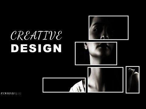 Creative Design Photo Frame - PowerPoint Tutorial 2017