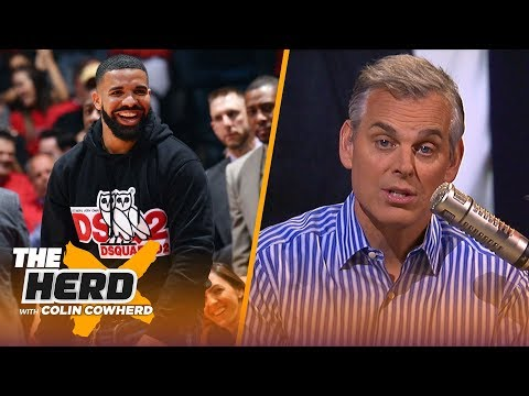 Drake's Antics Are Just Part Of NBA Culture, Clips Have Yet To Eclipse Lakers Brand | NBA | THE HERD