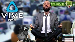 ME HAGO OFICINISTA! (HTC Vive) | JOB SIMULATOR Gameplay Español