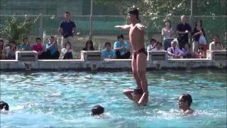 [2014-09-14][1100]水泳部:ウォーターボーイズ<千葉県立船橋東高校飛翔祭>