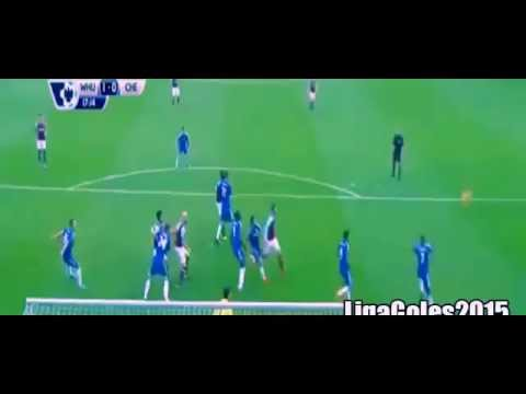 West Ham vs Chelsea 2-1 Premier League 2015 Mauro Zarate Goal HD